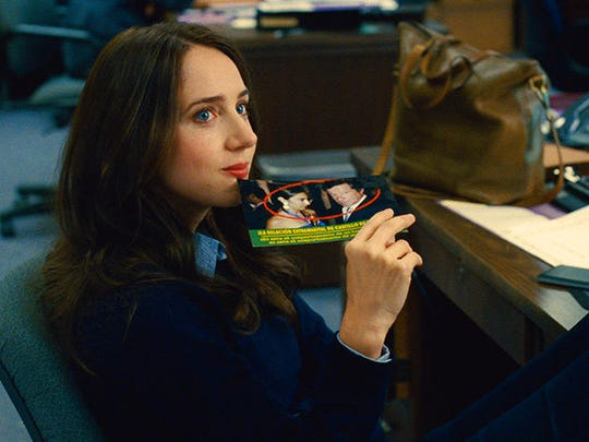 """Zoe Kazan plays an assistant on a struggling political campaign in """"Our Brand is Crisis."""""""