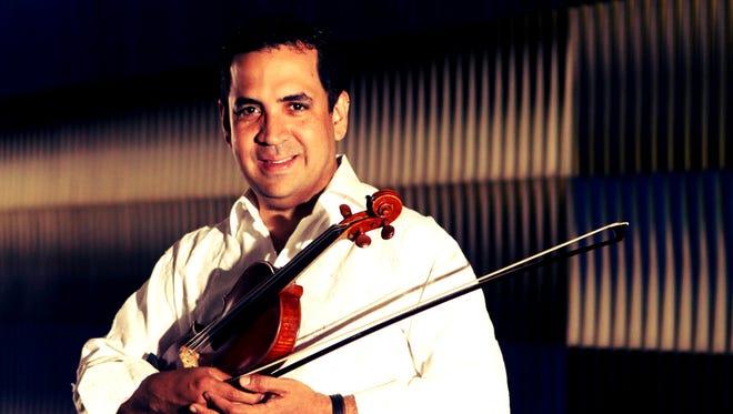 Violinist Eddy Marcano