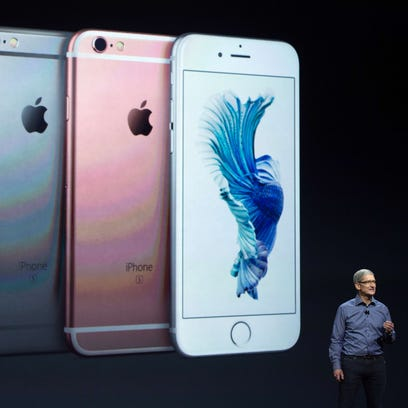 (FILES) In this September 9, 2015 file photo, Apple