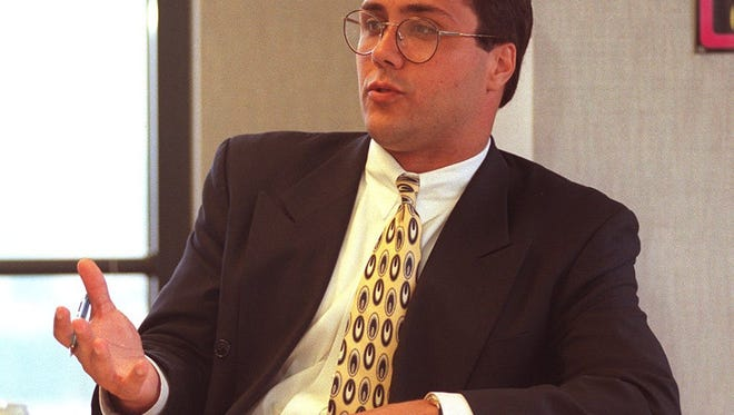 Money manager Glen Galemmo, in a 1997 photograph.  Enquirer file/Gary Landers