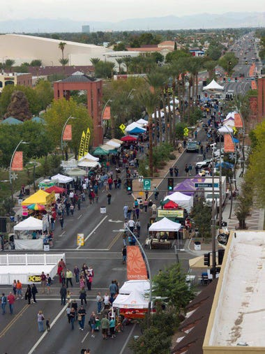 Downtown Chandler has been around for over 100 years,