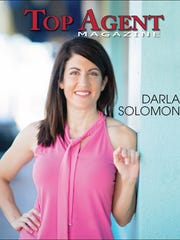 Darla Solomon was featured as a top real estate agent.