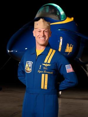 Cmdr. Ryan Bernacchi, flight leader