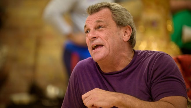 """Ray Jivoff plays Albin in Skylight Music Theatre's production of """"La Cage Aux Folles."""""""