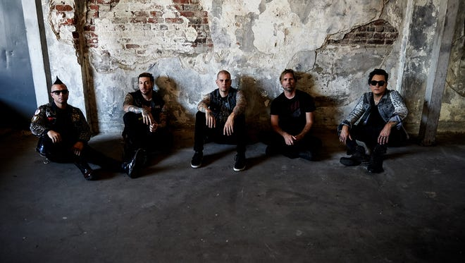 "Metal band Avenged Sevenfold will headline Jan. 24 at the Resch Center in support of its album ""The Stage."""