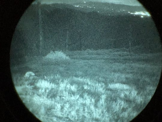 Night vision goggles were used by a Ventura County