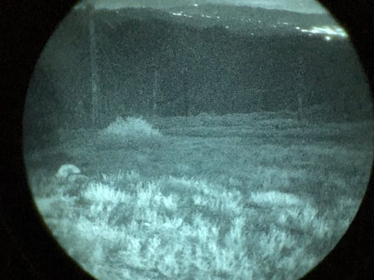 Night vision goggles were used by a Ventura County Sheriff helicopter unit to locate 12 off-roading motorcyclists lost in the Los Padres National Forest Sunday night.