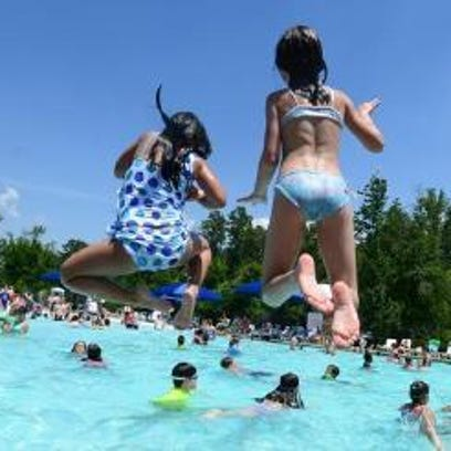 Children ages 5 – 14 are invited to participate in the world's largest swimming lesson starting at 8 a.m. Friday at four Greenville County Rec facilities.