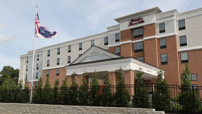 The exterior of the new Hampton Inn & Suites by Hilton Yonkers-Westchester at 555 Tuckahoe Road in Yonkers, Sept. 20. 2016.