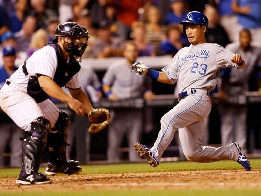 Royals Rockies Baseball