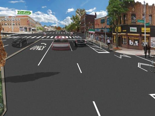East Jefferson streetscape