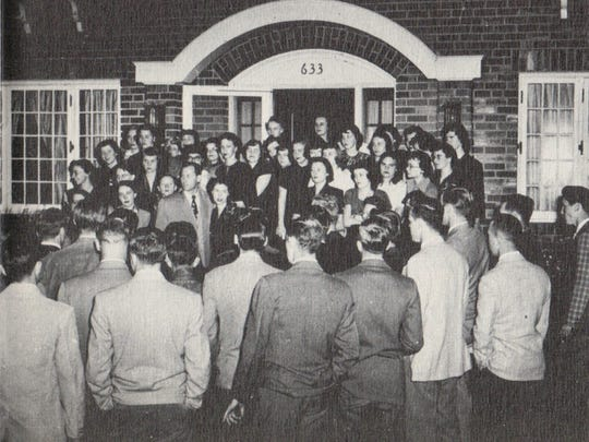 The Sigma Kappa sorority made its home at 633 S. College