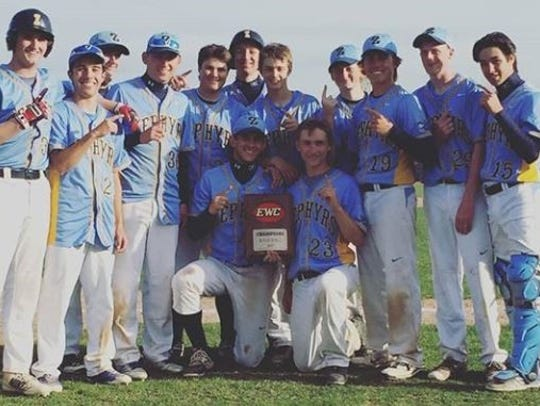 The St. Mary Catholic High School Baseball Team won
