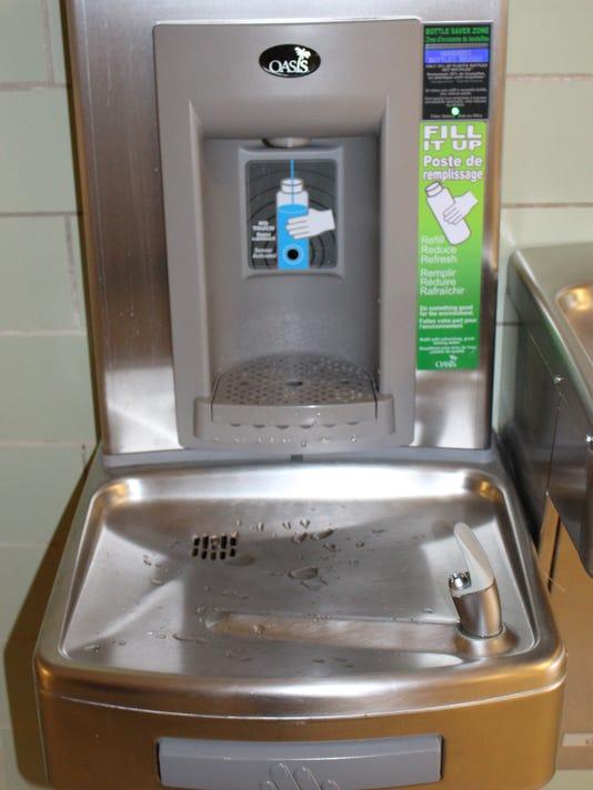 Susquehannock water bottle fillers