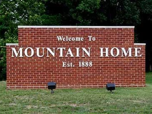 Mountain Home sign