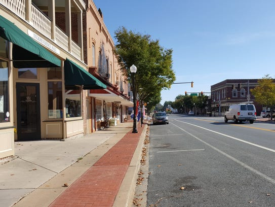 Somerset Avenue, which serves as the main commercial
