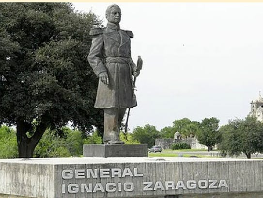 Gen. Ignacio Zaragoza, born in what is now South Texas,