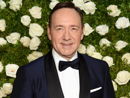 Kevin Spacey on June 11, 2017, at the Tony Awards in