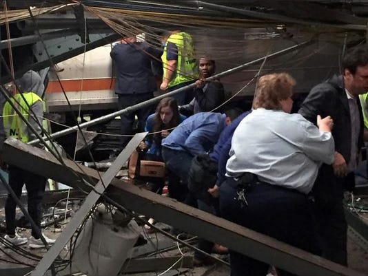 Hoboken train crash