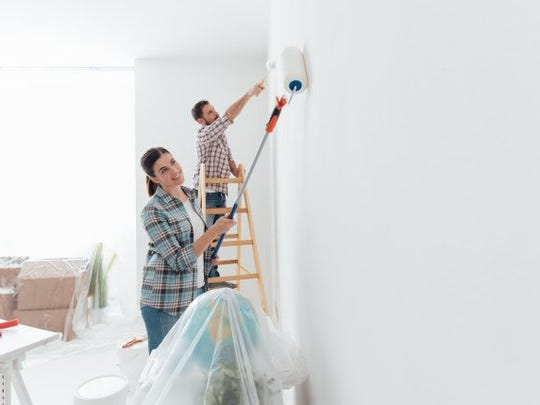 People selling homes make two common painting mistakes: Either they don't paint at all or they paint every single inch, which may be unnecessary.