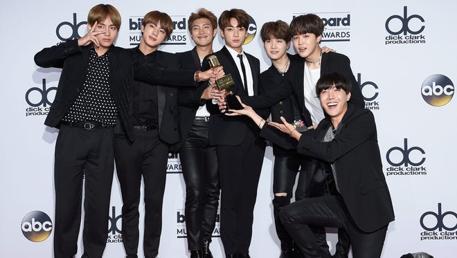BTS — whose name in Korean, Bangtan Sonyeondan — are topping the charts, thanks to their massive online cult following