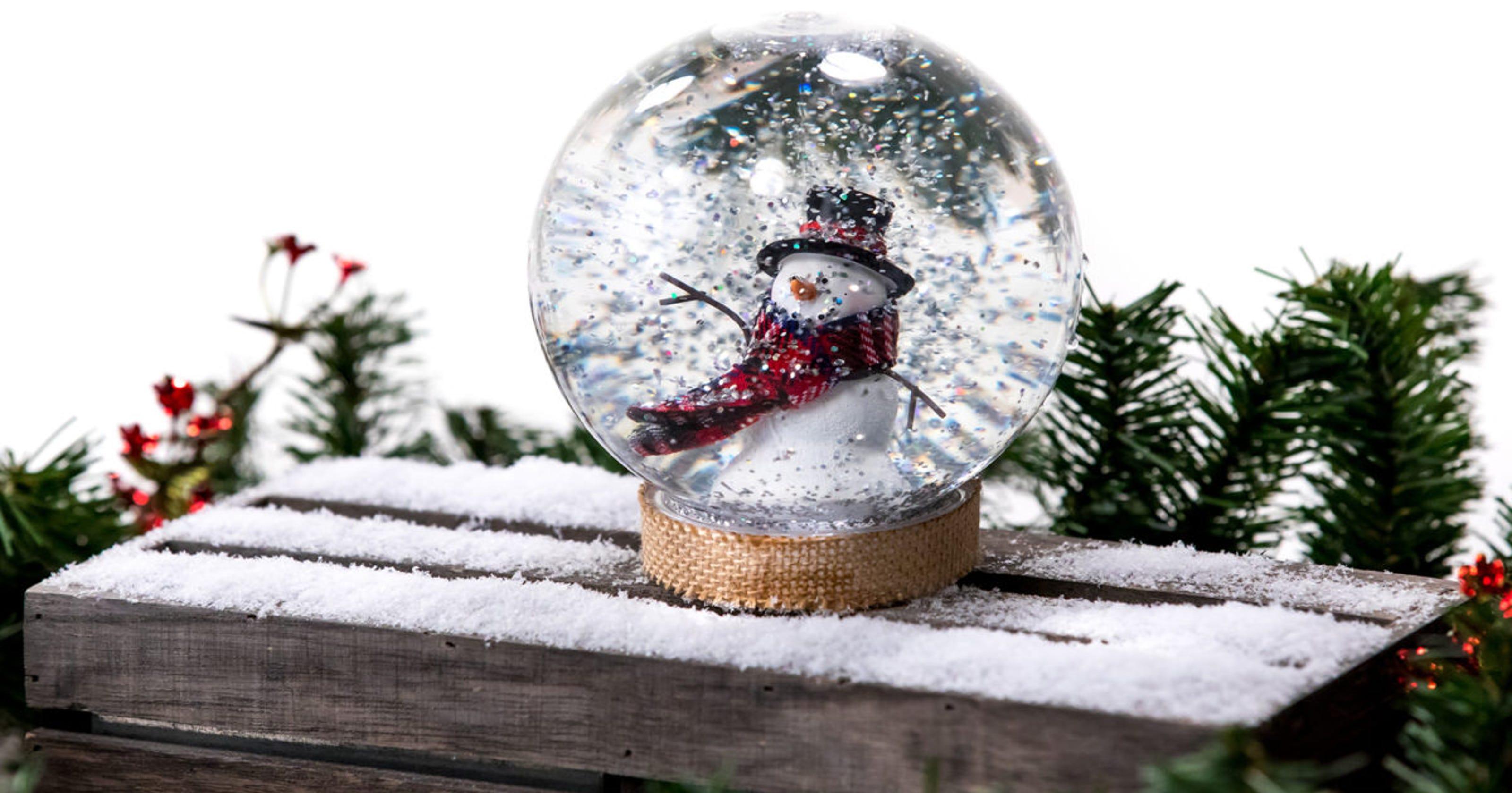 Christmas Snowglobes.Christmas Diy Handmade Snow Globe