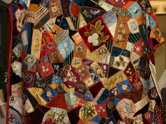 Crazy Quilts Reflect Resourcefulness And Creativity