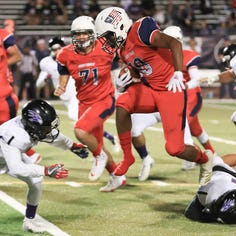 How many Tulare County teams scored 40 points or more in Week 9? Plus, power rankings?