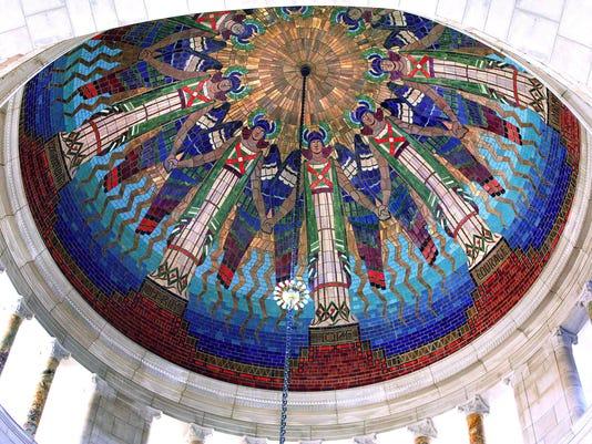 Nebraska State Capitol Rotunda Dome