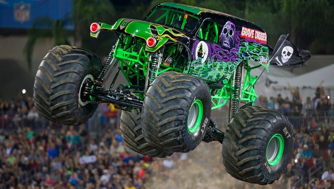 Morgan Kane, who has been driving Grave Digger the past few years, pretty much grew up driving monster trucks. To drive one of the most recognizable trucks though is a dream come true.