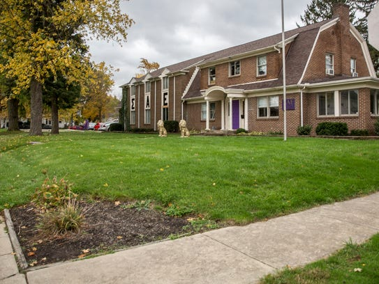 The Sigma Alpha Epsilon fraternity is just one of 13