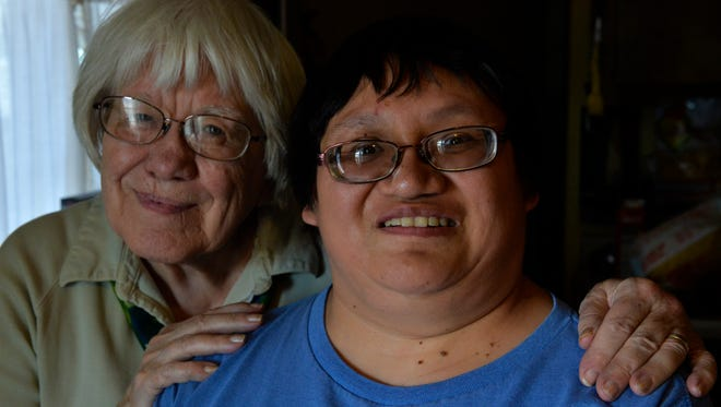 Sister Johnelle Howanach and her adopted daughter Lissie talk about what the loss of Helena Industries means to them.  Lissie, who has fetal alcohol syndrome, lost her case worker when Helena Industries closed down last week.