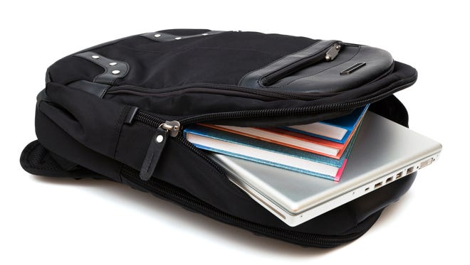 Easy to carry, sturdy, lightweight and low-cost, a backpack makes an ideal workday survival kit for students or professionals.
