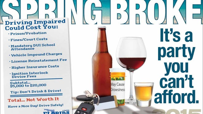 """Spring Break 2015 is """"Spring Broke — A party you can't afford."""""""