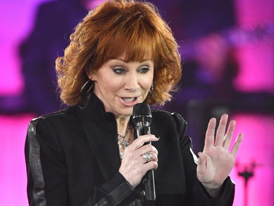 Reba McEntire, shown performing in Nashville, Tenn.,