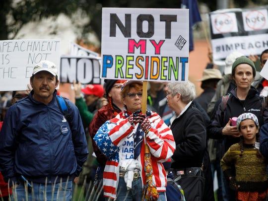 Los índices de aprobación para el presidente son muy bajos.