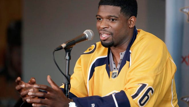 Predators defenseman P.K. Subban is already one of the biggest stars in franchise history.