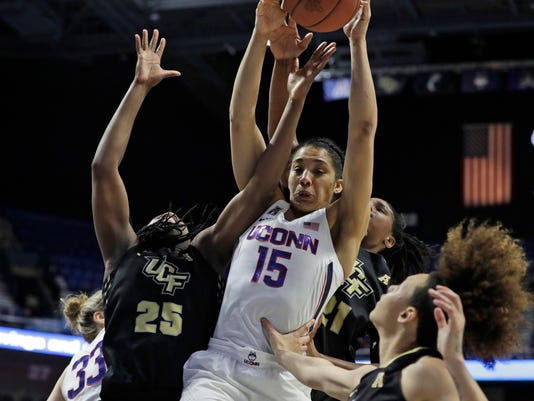 NCAA Womens Basketball: AAC Conference Tournament-UCF vs Connecticut