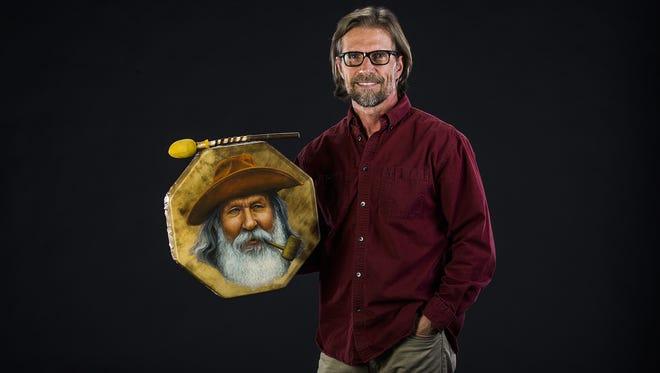 Stu Braks of Cave Creek created this work, Jacob Waltz, Old Dutchman.