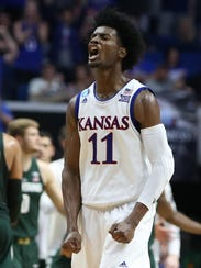 Kansas hits another gear when Josh Jackson is on his