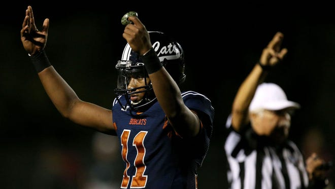 Jamarye Joiner, Vail Cienega, QB. Helped the Bobcats to a 10-0 regular-season record and the top seed in 5A. Threw for 1,681 yards and 22 TDs and run for 921 yards and 14 scores.
