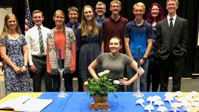 Eleven Dayton High School students were named to WNC's Phi Theta Kappa.