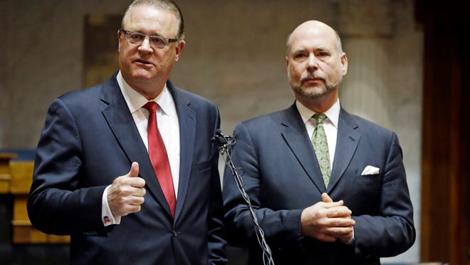 Indiana Sen. David Long and Rep. Brian C. Bosma said Monday they will clarify the RFRA language to show it doesn't allow discrimination against gays.