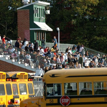 Mount Pleasant High School students evacuated the school