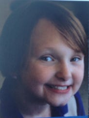 This undated photo shows Elizabeth Collins, 8, who