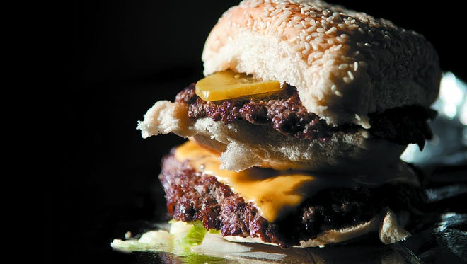 The High Burger from BurgerQue in Fort Myers.
