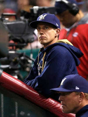 Milwaukee Brewers manager Craig Counsell has watched his team score early, but not late.