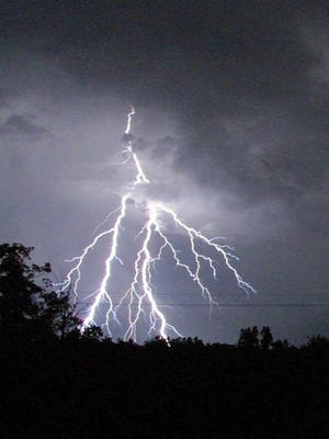 Always stay indoors when you see lightning. For the past four decades, lightning has been the second largest storm-related killer in the United States.