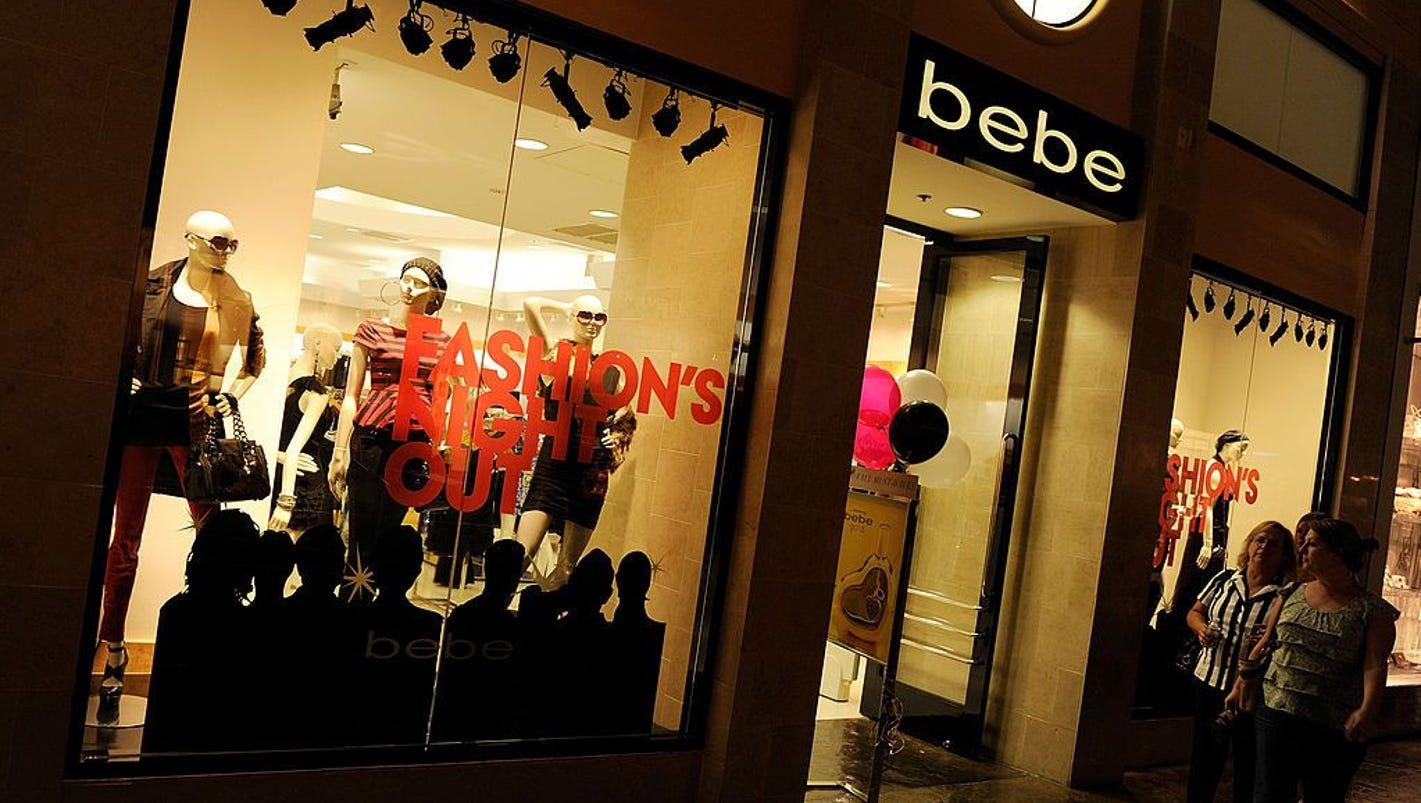 Bebe Stores are closing down. Here\'s the list