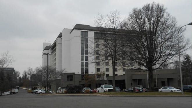 The Embassy Suites hotel underwent renovations two years ago.